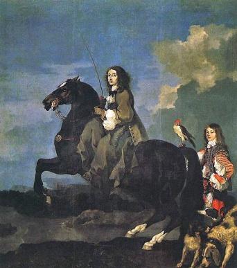 529px-Sébastien_Bourdon-Christina_of_Sweden_1653