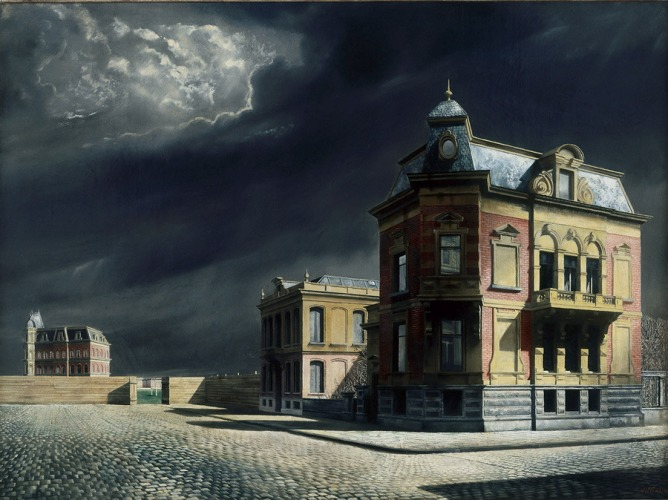 Carel Willink - Stadsgezicht [Cityscape] (1934)
