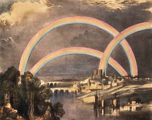 Charles F. Blunt - Rainbows - Astronomical Phenomena, 1842
