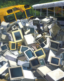 Computer Pile, 2000