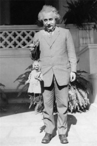 einstein-puppet