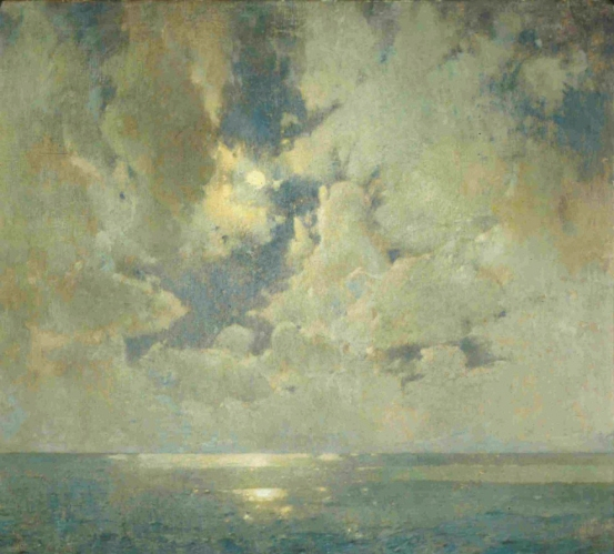 Emil-Carlsen-The-Heavens-Are-Telling-1918