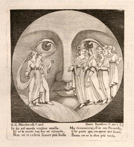 Title: La Divina commedia di Dante Alighieri con tavole in rame;