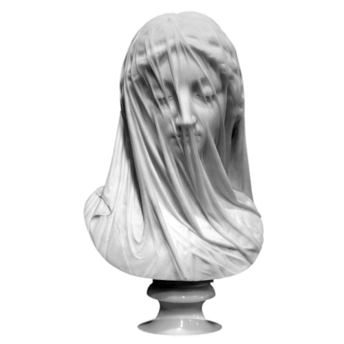 Giovanni Strazza - The Veiled Virgin (mid 19th c.)