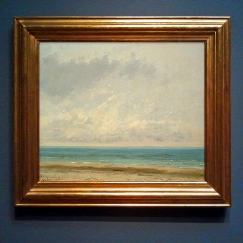 Gustave Courbet Calm Sea (1866)