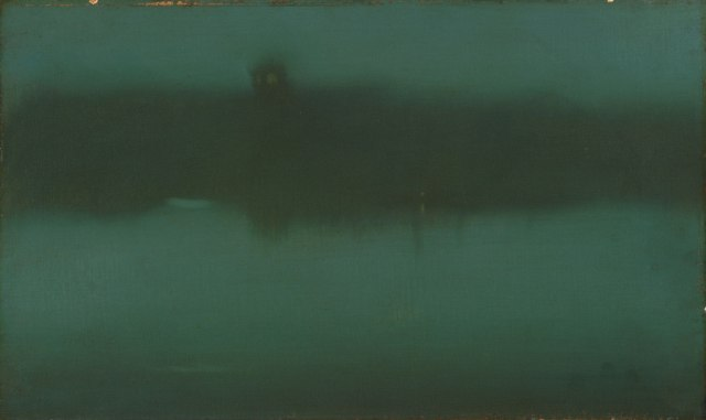 James Abbott McNeill Whistler - Nocturne Grey and Silver 1873 -1875