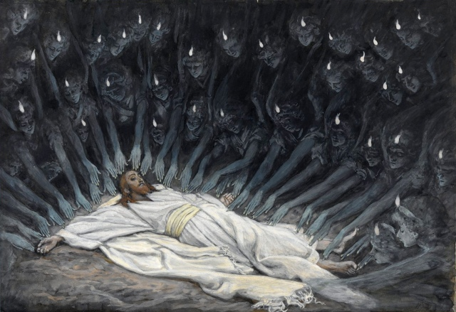 James Tissot - Jesus Ministered to by Angels (1886-1894)