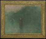 Thomas Wilmer Dewing: Before Sunrise (1894-1895)
