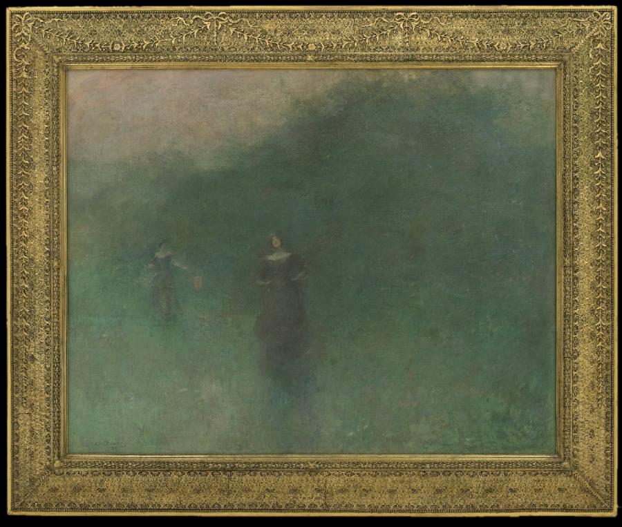 Thomas Wilmer Dewing: Before Sunrise (1894-1895)