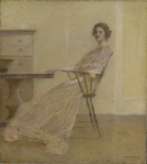 Thomas Wilmer Dewing: Repose (1921)