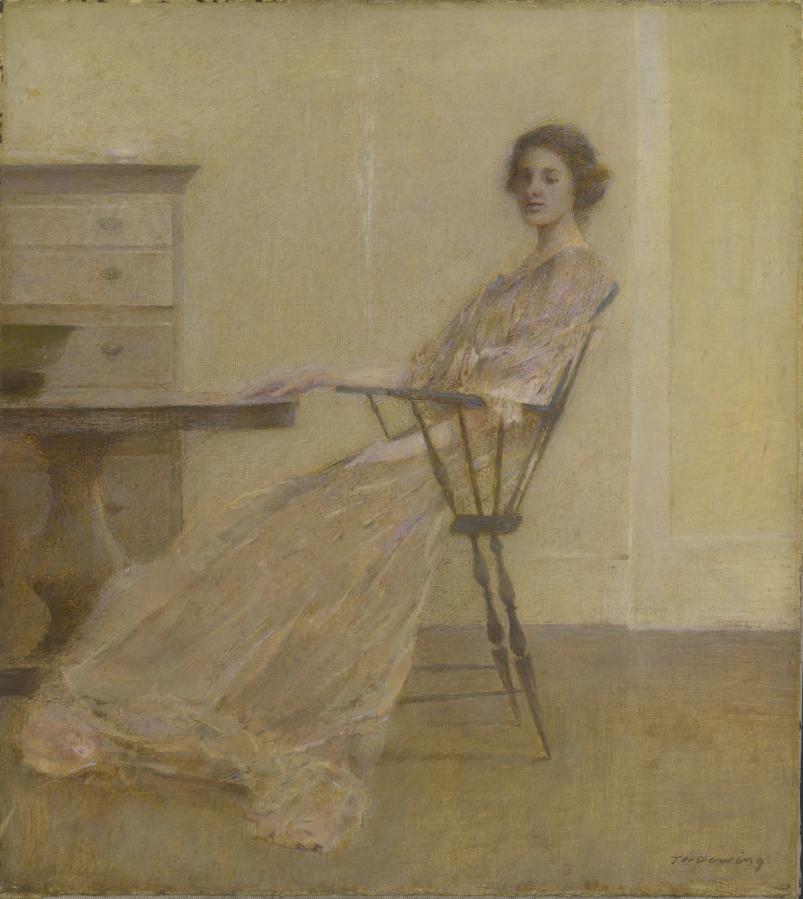 Thomas Wilmer Dewing: Repose (1921)