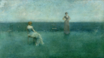 Thomas Wilmer Dewing: The Recitation (1891)