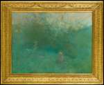 Thomas Wilmer Dewing: The White Birch (c 1896-1900)