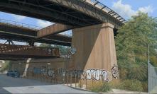 Train Trestle, East 133rd St, Bronx 2016