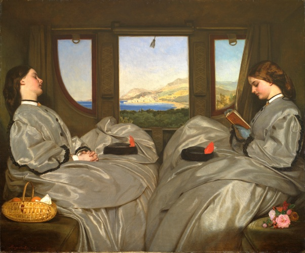 Augustus Leopold Egg - The Travelling Companions (1862)