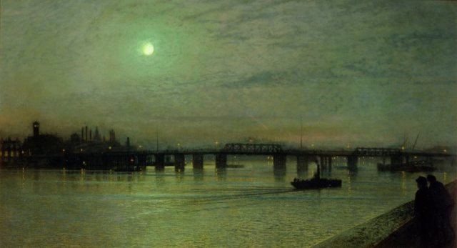 Battersea Bridge - John Atkinson Grimshaw - 1885
