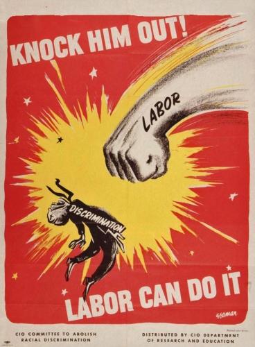 Bernard Seaman - CIO Poster (1951)