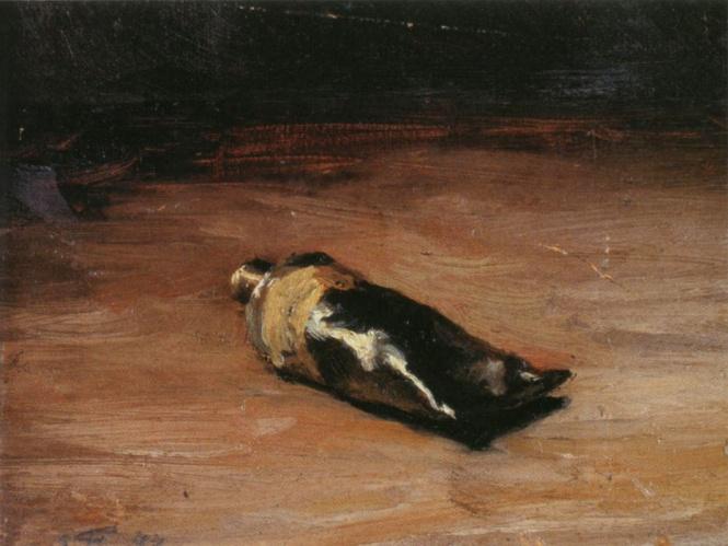 Émile Friant - Tube of Gouache (1877)