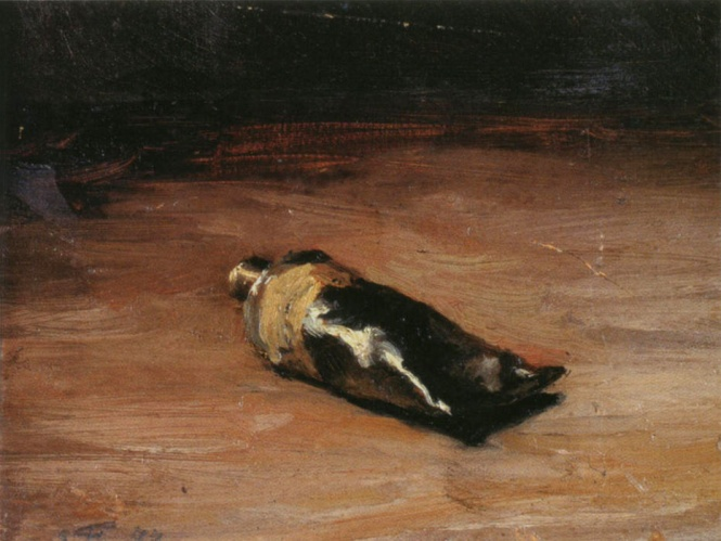 Émile Friant - Tube of Gouache (1877)