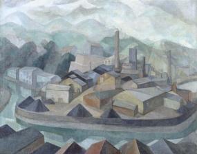 Daniel Vázquez Díaz - La fábrica dormida [The Sleeping Factory] (1925)