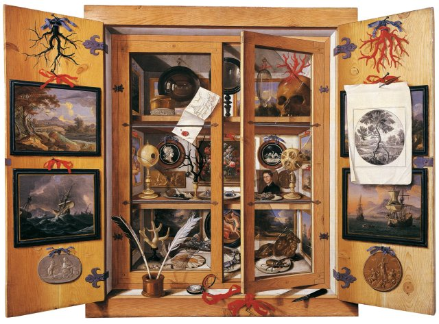 Domenico Remps - Cabinet of Curiosities (1690s)