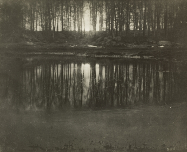 Edward Steichen - Moonrise - Mamaroneck, New York (1904)