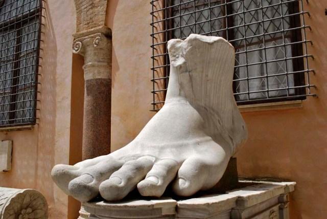 Foot of Constantine (312-315)