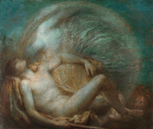 George Frederic Watts - Endymion (1903)