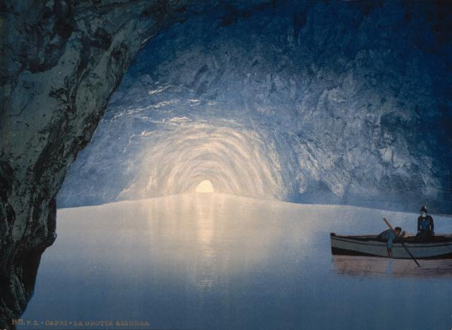 Grotta Azzurra, Capri - Detroit Publishing Company (1905)