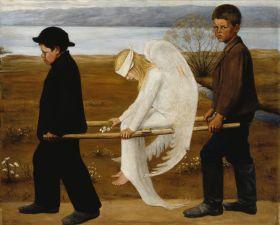 Hugo Simberg - The Wounded Angel (1903)