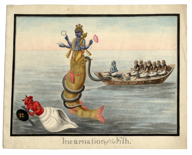 Incarnation of the Fish (India, early 19th cent.)