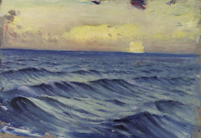 John Everett - Seascape from the Penaglis M. Hadoulis (1931-32)