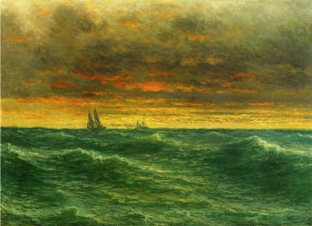 John Olson Hammerstad - Lake Michigan (c. 1887)