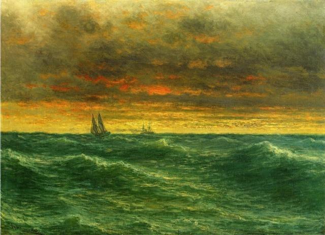 John Olson Hammerstad - Lake Michigan (c. 1887)