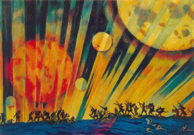 Konstantin Yuon - Новая планета [New Planet] (1921)