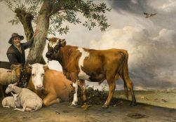 Paulus Potter - The Young Bull (1647)