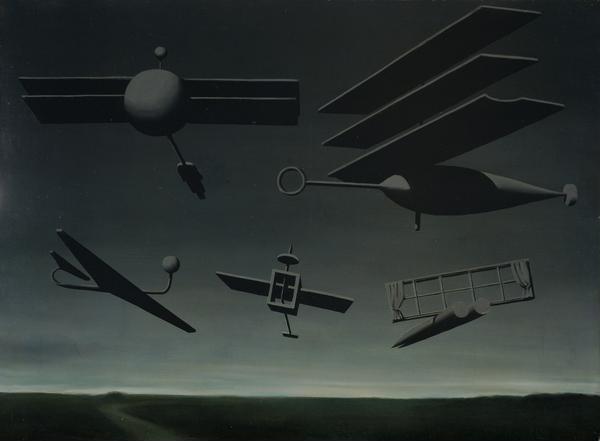 Rene Magritte - Le Drapeau noir (1937)