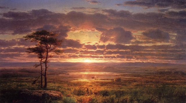 Solitude - Louis Remy Mignot - 1855