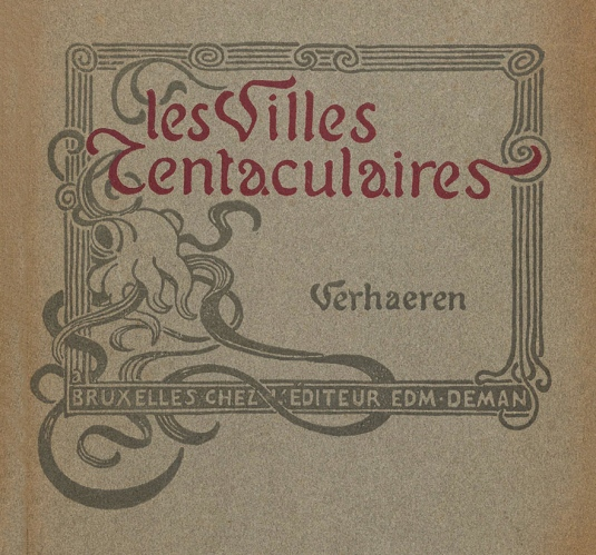 Theo-van-Rysselberghe-Emile-Verhaeren-Les-villes-tentaculaires 1895