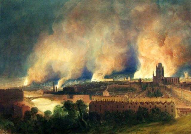 W. J. Müller - Bristol Burns (1831)