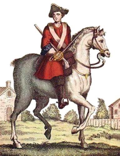 1706 illustration of Kit Cavanagh