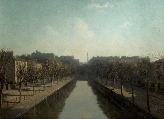Newton, Algernon Cecil, 1880-1968; Regent's Canal, Maida Vale, London