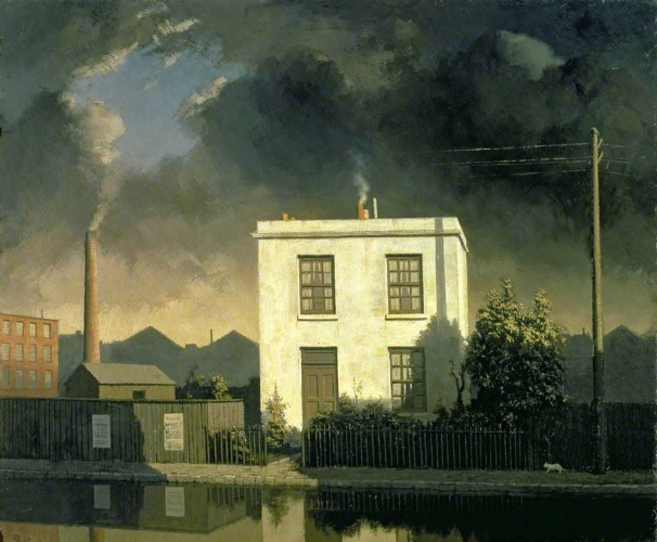 Newton, Algernon Cecil, 1880-1968; The House by the Canal