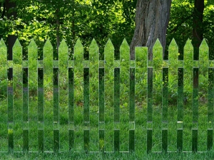 Alyson Shotz - Mirror Fence (2003-2014) 1