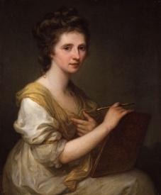 Angelica Kauffmann - Self-Portrait (1770-75)