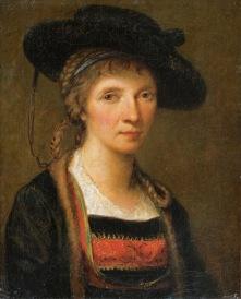 Angelica Kauffmann - Self portrait (1781)