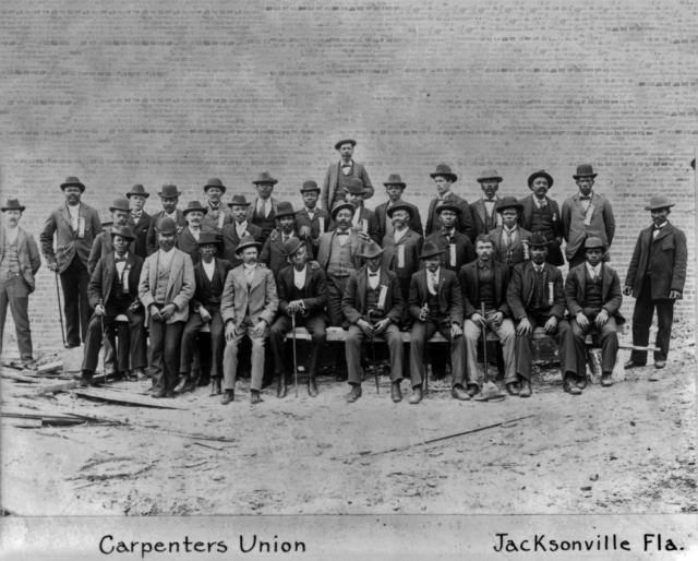Carpenters Union, Jacksonville Fla (c. 1899)
