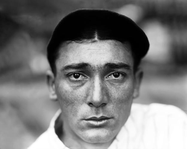 Charles M. Conlon - portrait of second baseman Tony Lazzeri of the 1927 Yankees