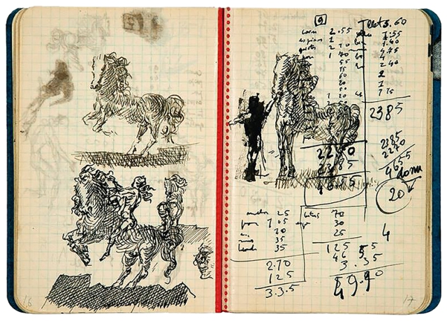 Dali Notebook (c. 1930-35)