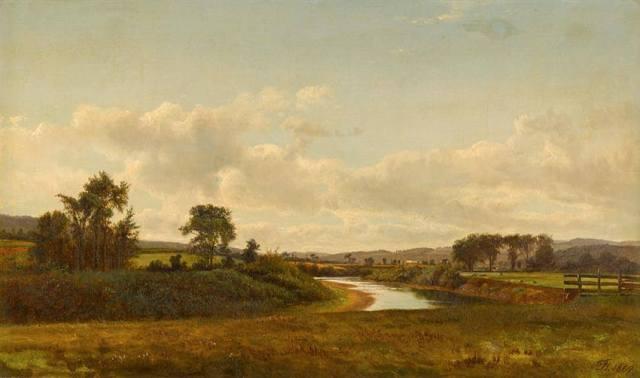 David Johnson - Lancaster New Hampshire Farmland (1867)